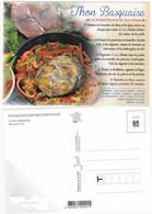 Recette De Cuisine:  LE THON  BASQUAISE  : Edit: JACK     N° 8988  NEUVE - Recipes (cooking)