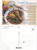 Recette De Cuisine:  LE POULET BASQUAISE    : Edit: JACK     N° 8945 NEUVE - Recipes (cooking)