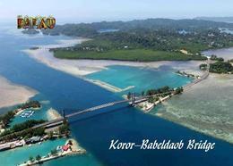Palau Koror-Babeldaob Bridge New Postcard - Palau