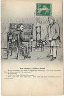 L30E331 - Au Village - Mise En Scène De Deux Jeunes Hommes - Dialogue Humoristique Chez L'Avoué - People