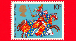 Nuovo - MNH - INGHILTERRA - GB - 1974 - Guerrieri Medievali - The Black Prince - 10 - Nuevos