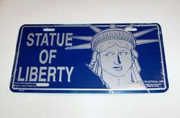 USA Metal (tin) Designer Plate 'Statue Of Liberty' - Size 30x15cm - NEW ! - Plaques En Tôle (après 1960)