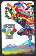 OLIMPIADI OLIMPIC GAMES MEXICO 1968 CABALLERO TIGRE N° B718 - Summer 1968: Mexico City
