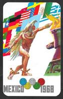 OLIMPIADI OLIMPIC GAMES MEXICO 1968 FUEGO SAGRADO N° B719 - Summer 1968: Mexico City