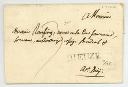 DIEUZE 1774 - 1701-1800: Voorlopers XVIII