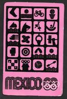 OLIMPIADI OLIMPIC GAMES MEXICO 1968  N° B721 - Summer 1968: Mexico City