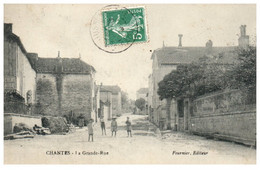 70 CHANTES - La Grande Rue - Autres Communes