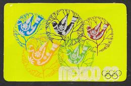 OLIMPIADI OLIMPIC GAMES MEXICO 1968  N° B723 - Summer 1968: Mexico City