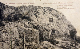 Cartolina - Monte Pasubio - Difese Dietro Il Dente - 1924 - Trento