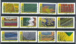 Superbe Série Adhésive Nouveauté Paysages 2021 Oblitérée TTB - Adhesive Stamps