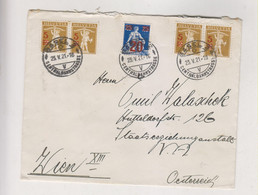 SWITZERLAND BASEL 1921 Nice Cover To Austria - Covers & Documents