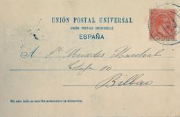 1900 BARCELONA , T.P. CIRCULADA , MONTSERRAT - VISTA GENERAL - Cartas