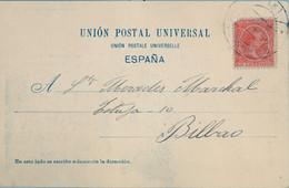 1900 BARCELONA , T.P. CIRCULADA , MONTSERRAT - EL MONASTERIO - Cartas