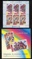 Moldova 2006 EUROPA Stamps - Integration Through The Eyes Of Young People.MNH ** - 2006