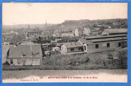 25 - Doubs - Montbeliard Et La Citadelle, Vu De La Gare  (N4852) - Montbéliard