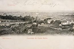 Cartolina - Vicenza - Panorama Da Monte Berico - 1900 - Vicenza