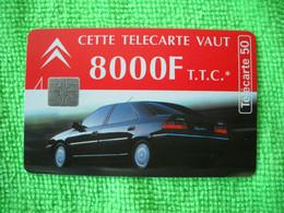 7145 Télécarte Collection CITROEN  8000 F 1996  50u  ( Recto Verso)  Carte Téléphonique - Automobili