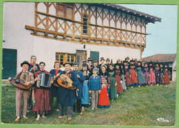 CPSM Groupe Folklorique Du S.I. De Saint Etienne Du Bois 01 Ain Animé Accordéon Vielle Musicien Noce Bressane - Unclassified