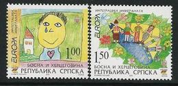 "BOSNIA HERZEGOVINA SERBIA/ BOSNIEN SERBIEN/ BOSNIE- EUROPA 2006 - TEMA ""INTEGRACIÓN"" - SERIE 2 V - N - 2006"