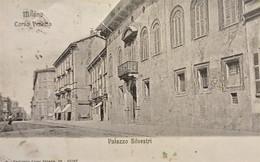 Cartolina - Milano - Corso Venezia - Palazzo Silvestri - 1914 - Milano (Milan)