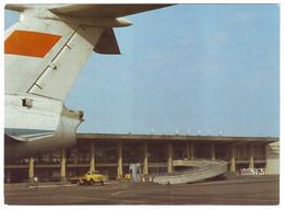 TBILISI, GEORGIA (USSR, 1985).  AIRPORT. Unused Postcard, AEROFLOT Edition - Aeródromos