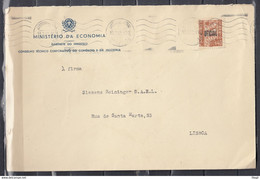 Ministerio Da Economia Gabinete Do Ministro Van Lisboa Naar Lisboa - Covers & Documents
