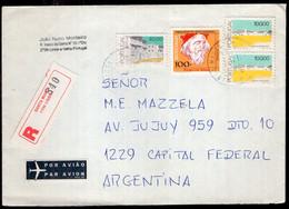 Portugal - 1991 - Lettre - Envoyé En Argentina - A1RR2 - Cartas
