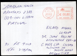 Portugal - 2011 - Lettre - Envoyé En Argentina - A1RR2 - Covers & Documents