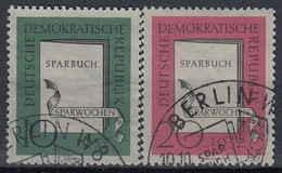 DDR 598-599,used - Used Stamps