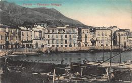 FORMIA ITALY~PANORAMA SPIAGGIA~1919 TINTED PHOTO POSTCARD 52954 - Latina