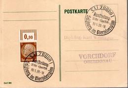 CARTE POSTALE 1939 - SALZBOURG, DANS LE PLAN TRIENNAL - - Covers & Documents
