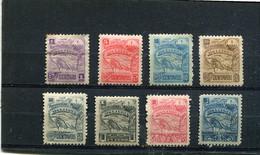 Nicaragua 1896 Yt 81 83-89 * - Nicaragua