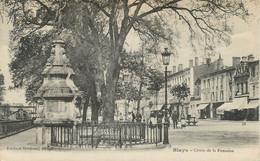 """CPA FRANCE 33 """"Blaye, Cours De La Fontaine"""" - Blaye"""