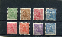 Nicaragua 1899 Yt 110-113 117-120 * - Nicaragua