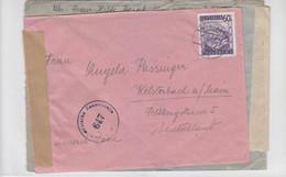 Zwei Zensurbriefe (einer Doppelt Zensiert) Aus WIEN Nach Kelsterbach - 1945-60 Cartas