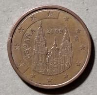 2009  - SPAGNA - MONETA IN EURO - DEL VALORE DI 5 CENTESIMI - CIRCOLATA - Spanien
