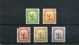 Nicaragua 1912 Yt 298 300-301 303 305 * - Nicaragua