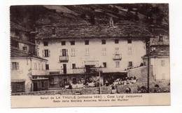 ITALIE - Saluti Da LA THUILE - Casa Luigi Jacquemod - Sede Della Società Anonima Miniere Del Ruithor - Animée + Ta(Z168) - Aosta