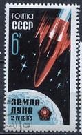 URSS - Sowjetunion - CCCP - Russie 1963 Y&T N°2651 - Michel N°2743 (o) - 6k Sonde Luna 4 - Used Stamps
