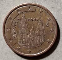 2007 - SPAGNA - MONETA IN EURO - DEL VALORE DI 5 CENTESIMI - CIRCOLATA - Spanien