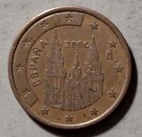 2006 - SPAGNA - MONETA IN EURO - DEL VALORE DI 5 CENTESIMI - CIRCOLATA - Spanien