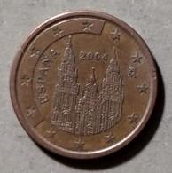 2004 - SPAGNA - MONETA IN EURO - DEL VALORE DI 5 CENTESIMI - CIRCOLATA - Spanien