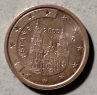 2000 - SPAGNA - MONETA IN EURO - DEL VALORE DI 5 CENTESIMI - CIRCOLATA - Spanien
