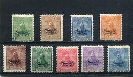 Nicaragua 1899 Yt 91-92 94-98 100-101 * Timbres De Service - Nicaragua