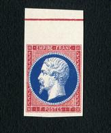 France - Essai Du Napoléon III N° 18 Neuf ** Superbe Reproduction Avec Gomme - 1853-1860 Napoléon III