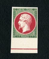 France - Essai Du Napoléon III N° 18 Neuf ** - Superbe Reproduction Avec Gomme - 1853-1860 Napoléon III