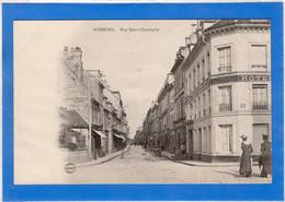 02 AISNE - SOISSONS Rue Saint-Christophe, Pionnière (voir Description) - Soissons