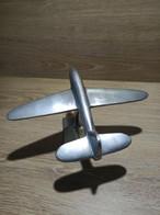 Objet Alu Aluminium Avion Moulage Déco Vintage Bureau Vitrine - Pubblicità