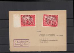 KONTROLLRAT 1948 Interessanter Brief (212131) - American,British And Russian Zone