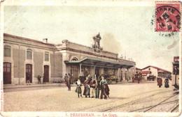FR66 PERPIGNAN - Paulin Boutet - Lot De 18 Cpa - Même Correspondance - Voyagées Timbrées - Gare - Tramway Lavandière .. - Perpignan